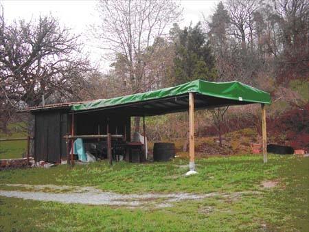 Die Skihütte 2005
