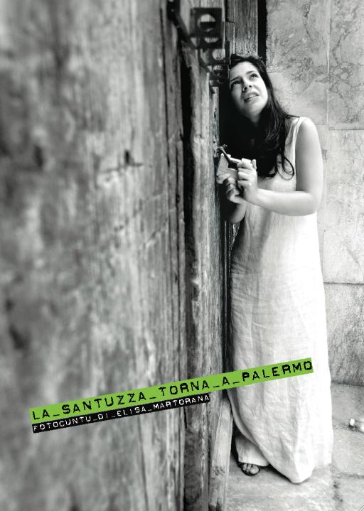 il fotocunto LA SANTUZZA TORNA  A PALERMO di Elisa Martorana