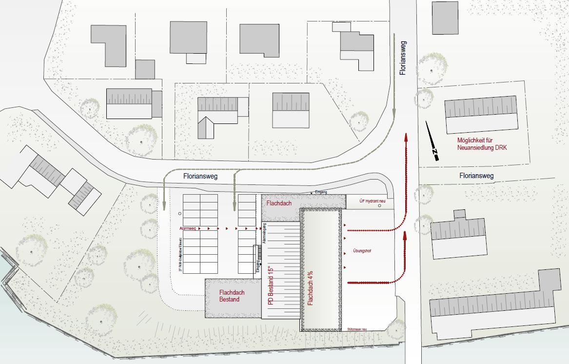 Erweiterung Und Generalsanierung Feuerwehrhaus | 2015   Bernd Mattern  Architektur Wellendingen, Individuelle Hochwertige Architektur