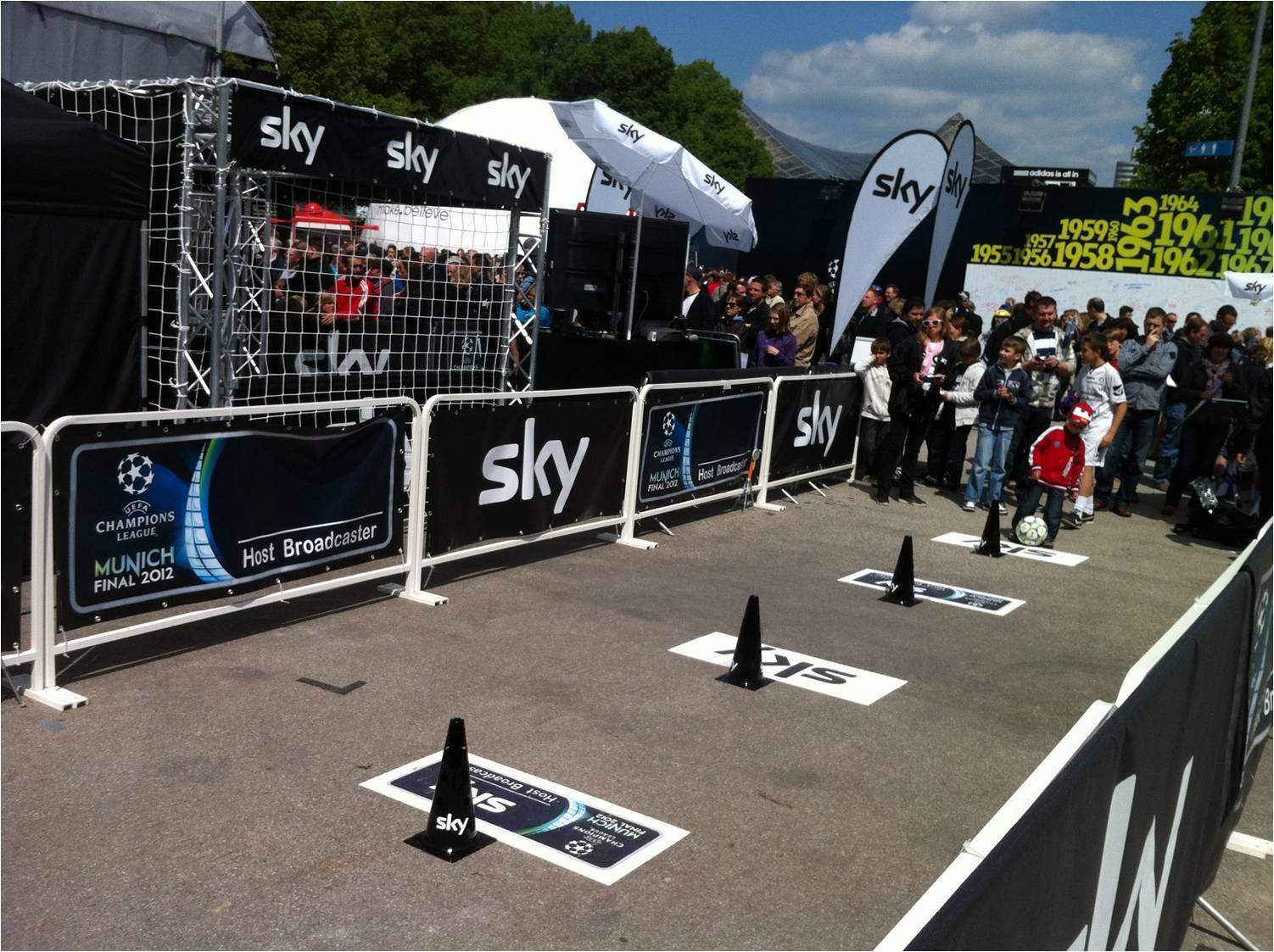 Dribbleparcours für SKY