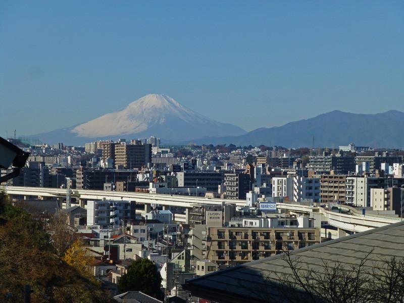富士山(イタリア山より)