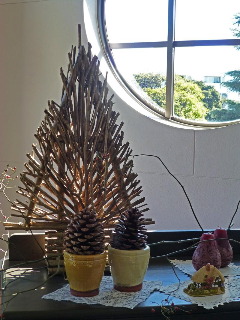 ベーリックホールのカナダのクリスマスツリー