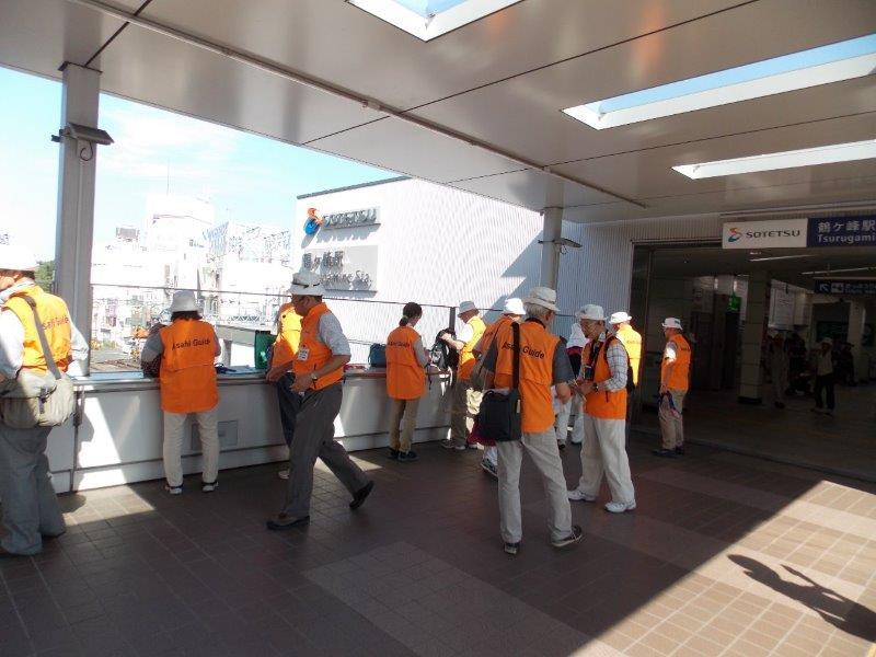 鶴ヶ峰駅集合風景
