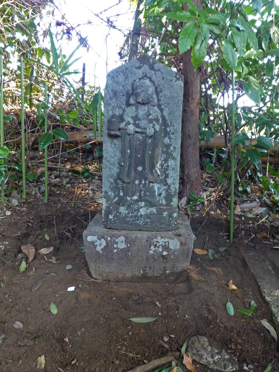 聖徳太子碑(1808年建立)