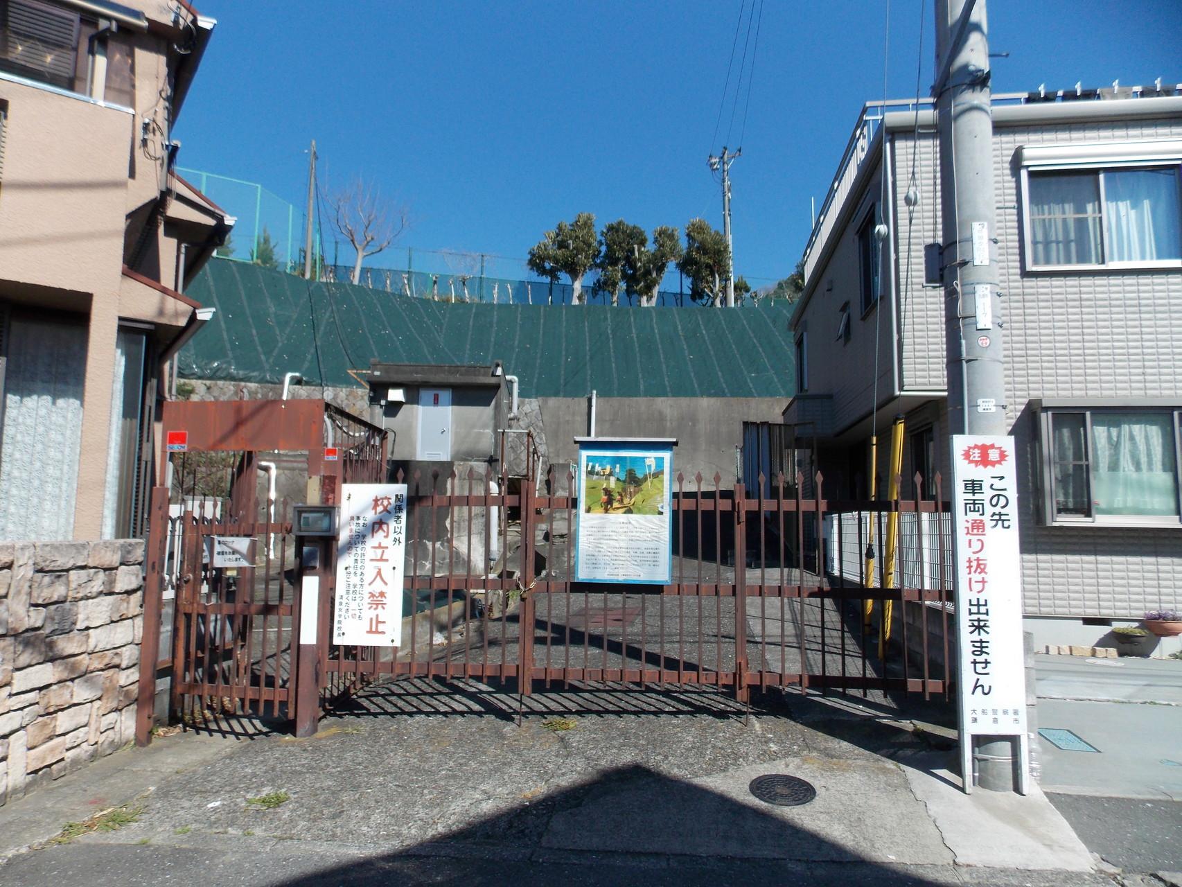 玉縄城大手門跡(清泉女子大学入口)