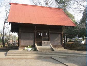 上川井神明社