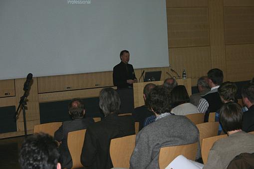 Begrüßung durch Dr. Larm, LBEG Hannover