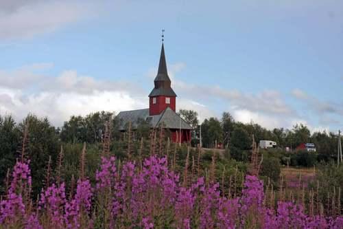 Die Kirche von Kautokeino