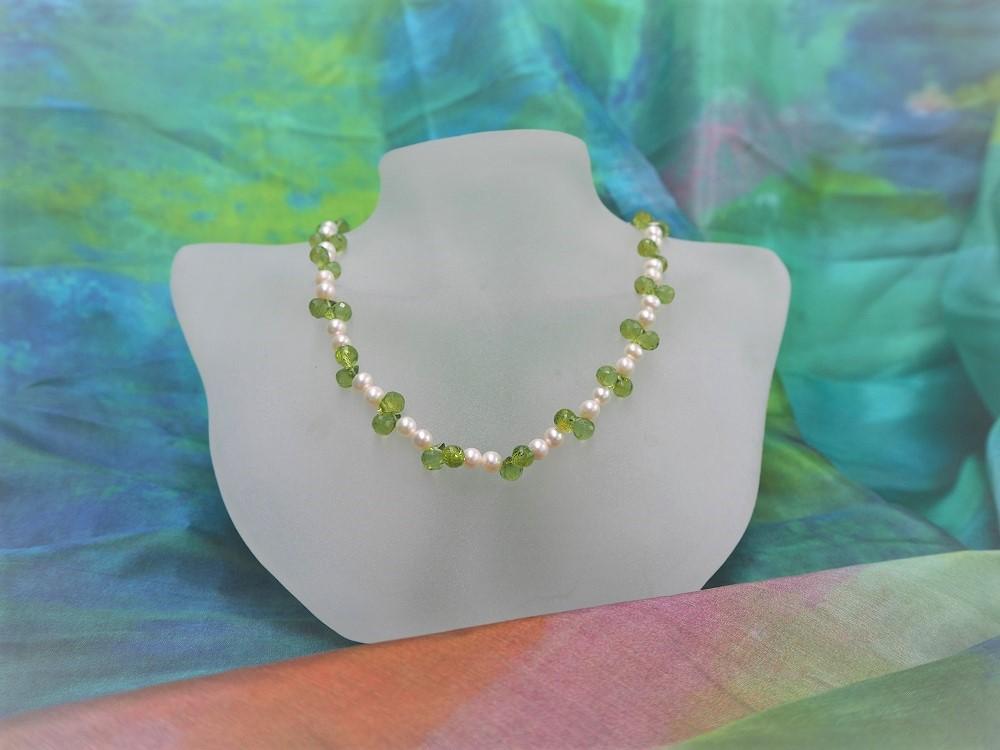 Peridot/Perlen