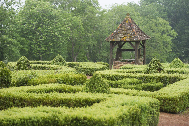 Jardin Château de Morlanne - Tourisme Nord Béarn Madiran