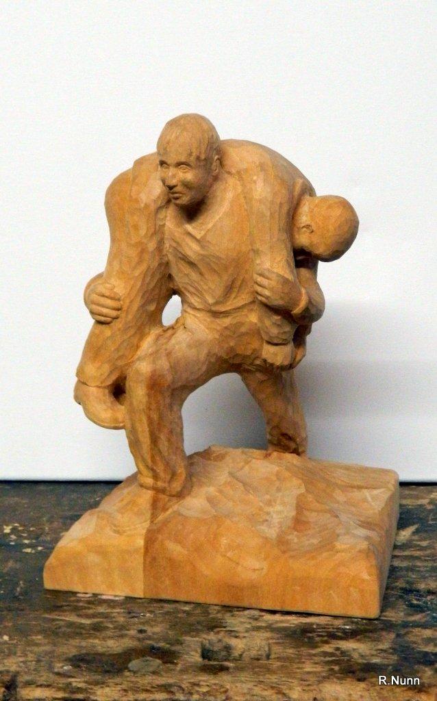 Auftragsarbeit- Lebensretter Skulptur