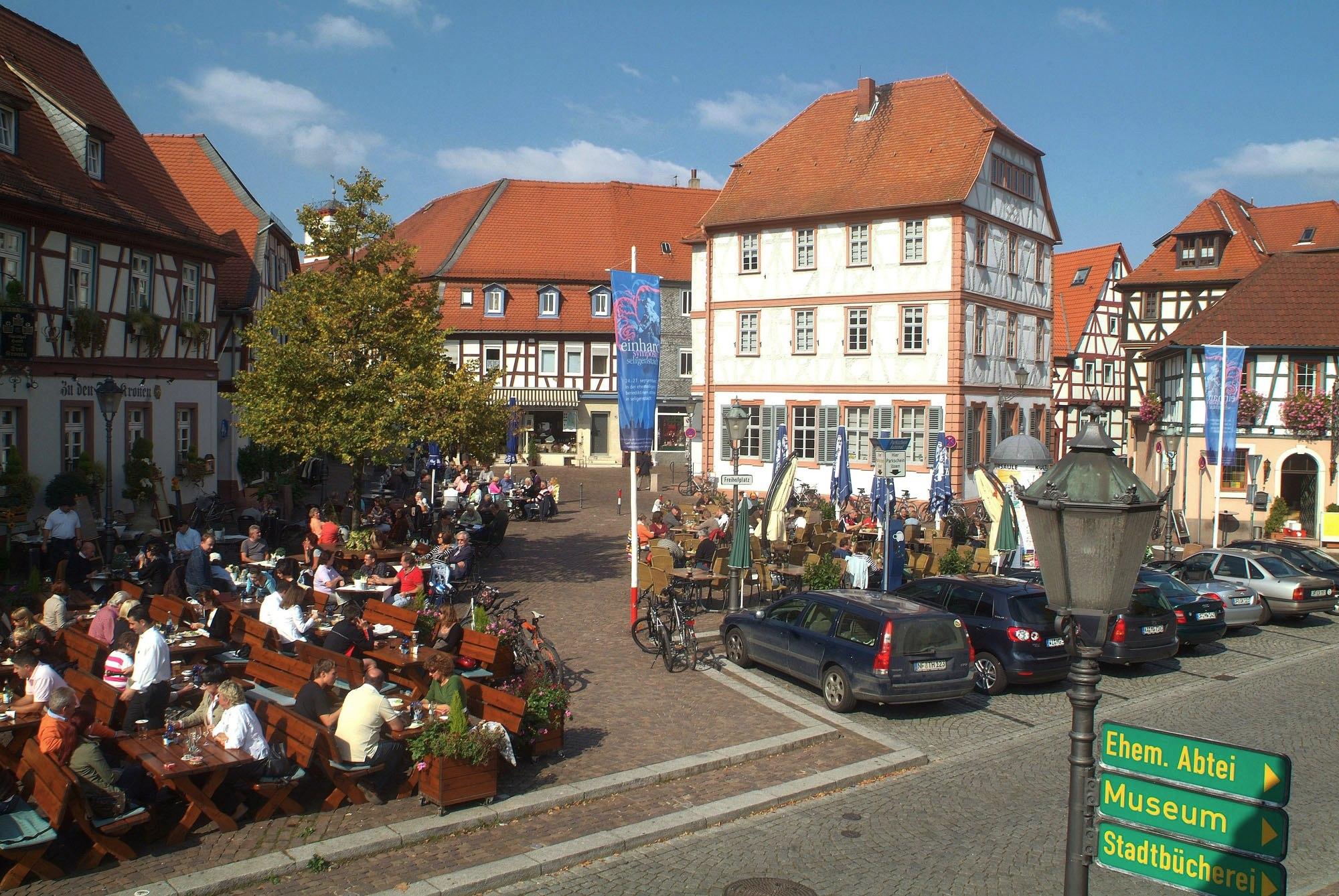Stadt Seligenstadt, Foto: Mathias Neubauer
