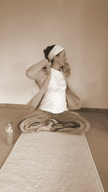 Yoga-Lehrerin Martina Meesenburg