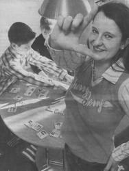 Stefanie Schnetzke will in ihrer Schwafheimer Praxis Spaß am Lernen vermitteln.