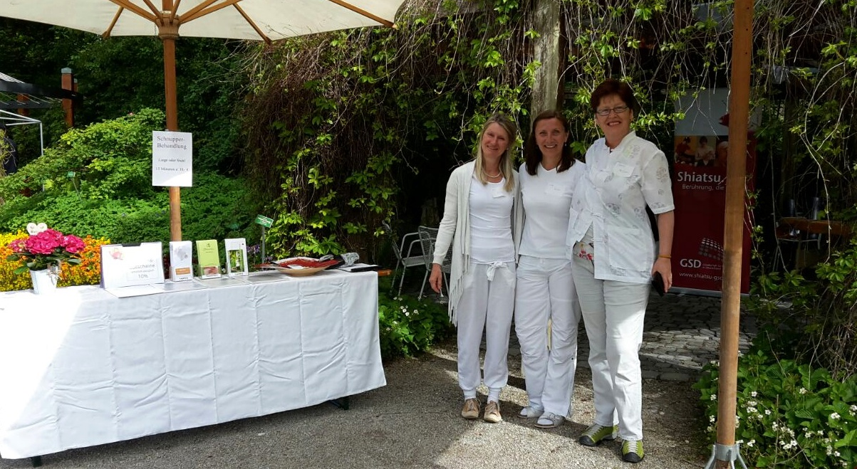 Das Team 2017 (von links): Eleonore Hoidn, Lisa Fuchs, Carola McLaren