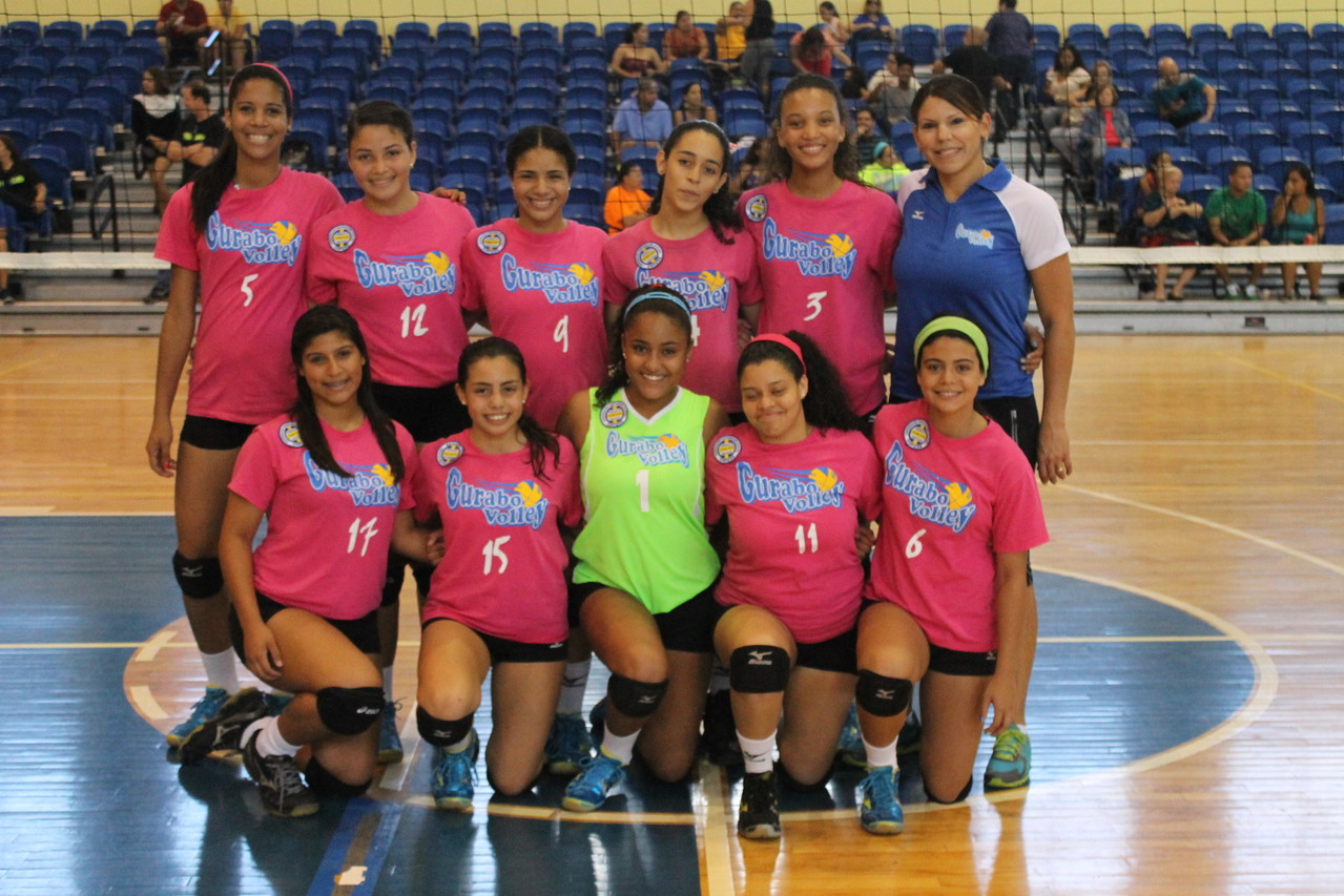 SUBCAMPEONES 14 UNDER GURABO VOLLEY HAWKS