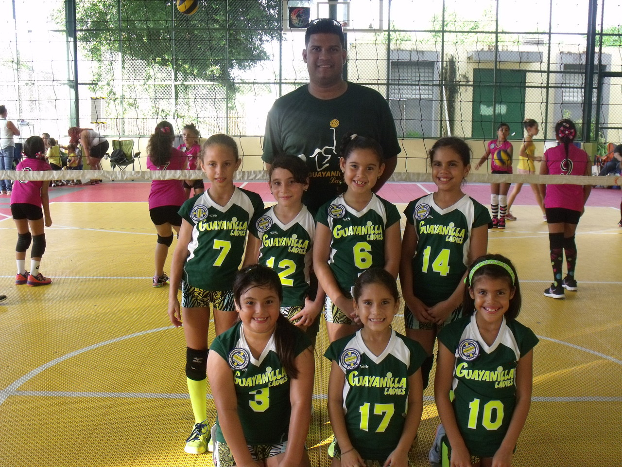 Guayanilla Ladies Sub Campeonas 8 under Regualr