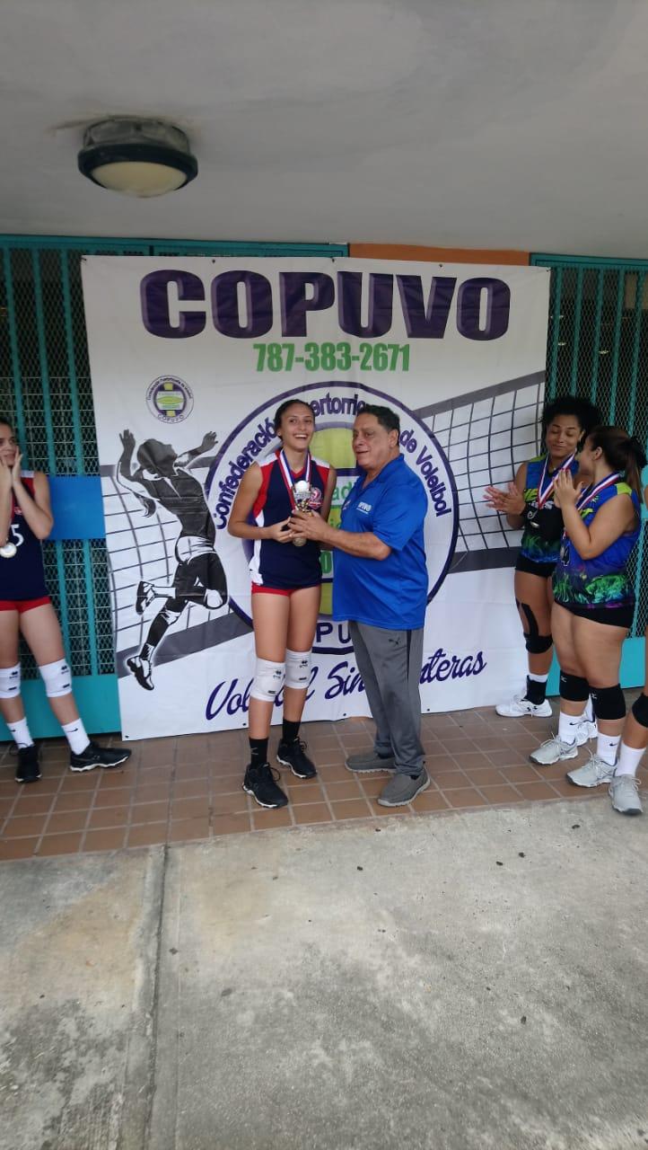 LA JOVEN KEYSHLA RODRIGUEZ MVP EN 15 Y 16 AÑOS