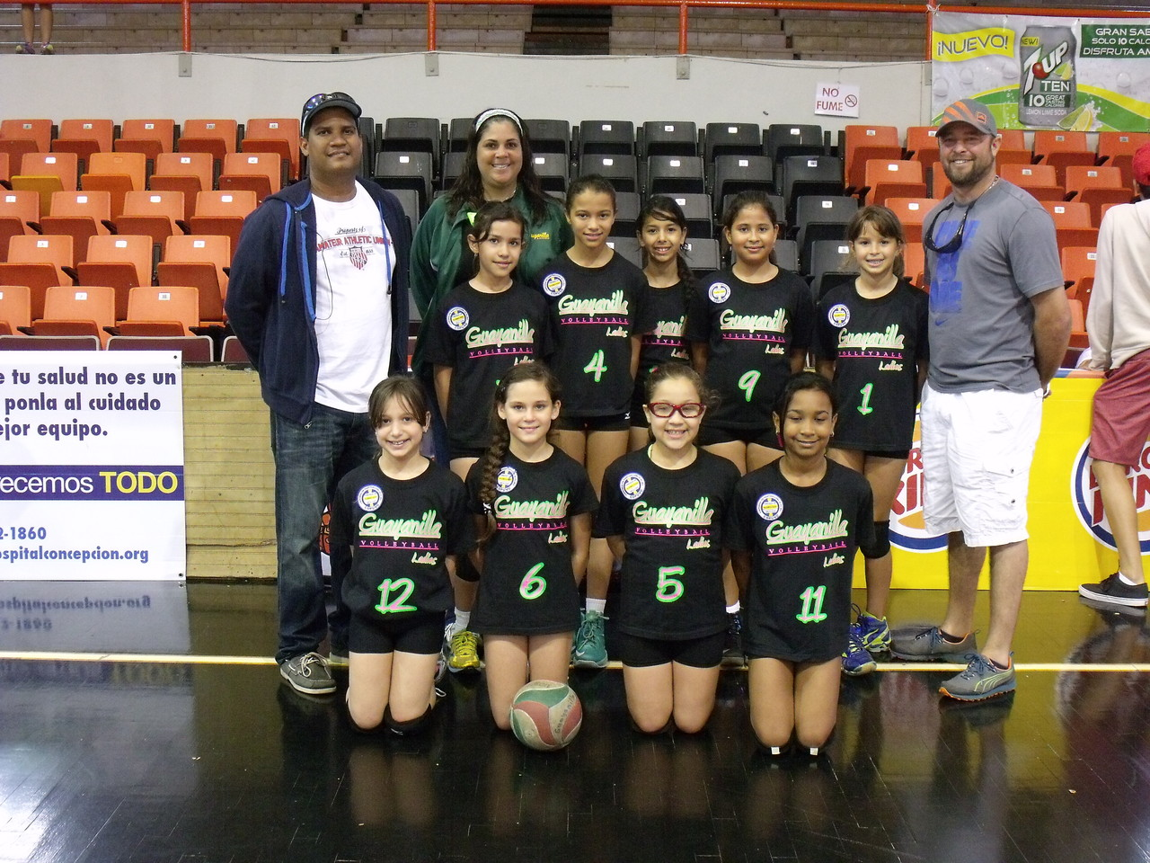 Guayanilla Ladies Sub Campeonas en 10 under 2013