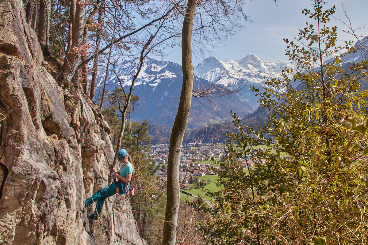 Fragile Suisse Klettertag Bockstore Unterseen