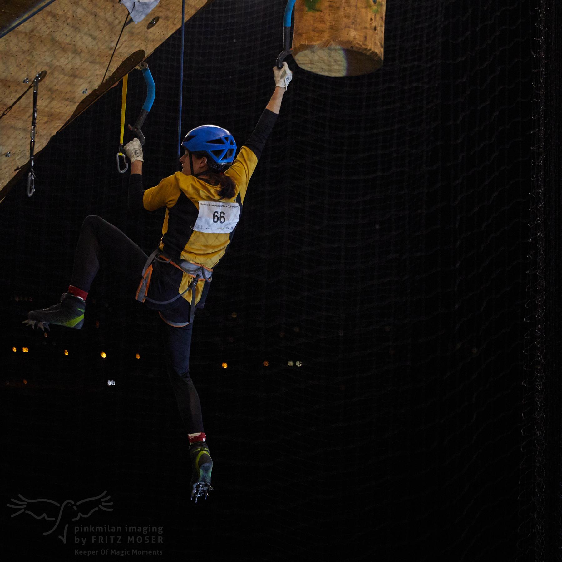 UIAA European Ice Climbing Cup, final women