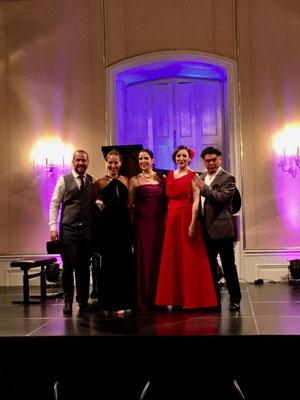 Christina Baader, Barbara Felicitas Marín, Jorge Martinez, Susanna Klovsky, José Fernández