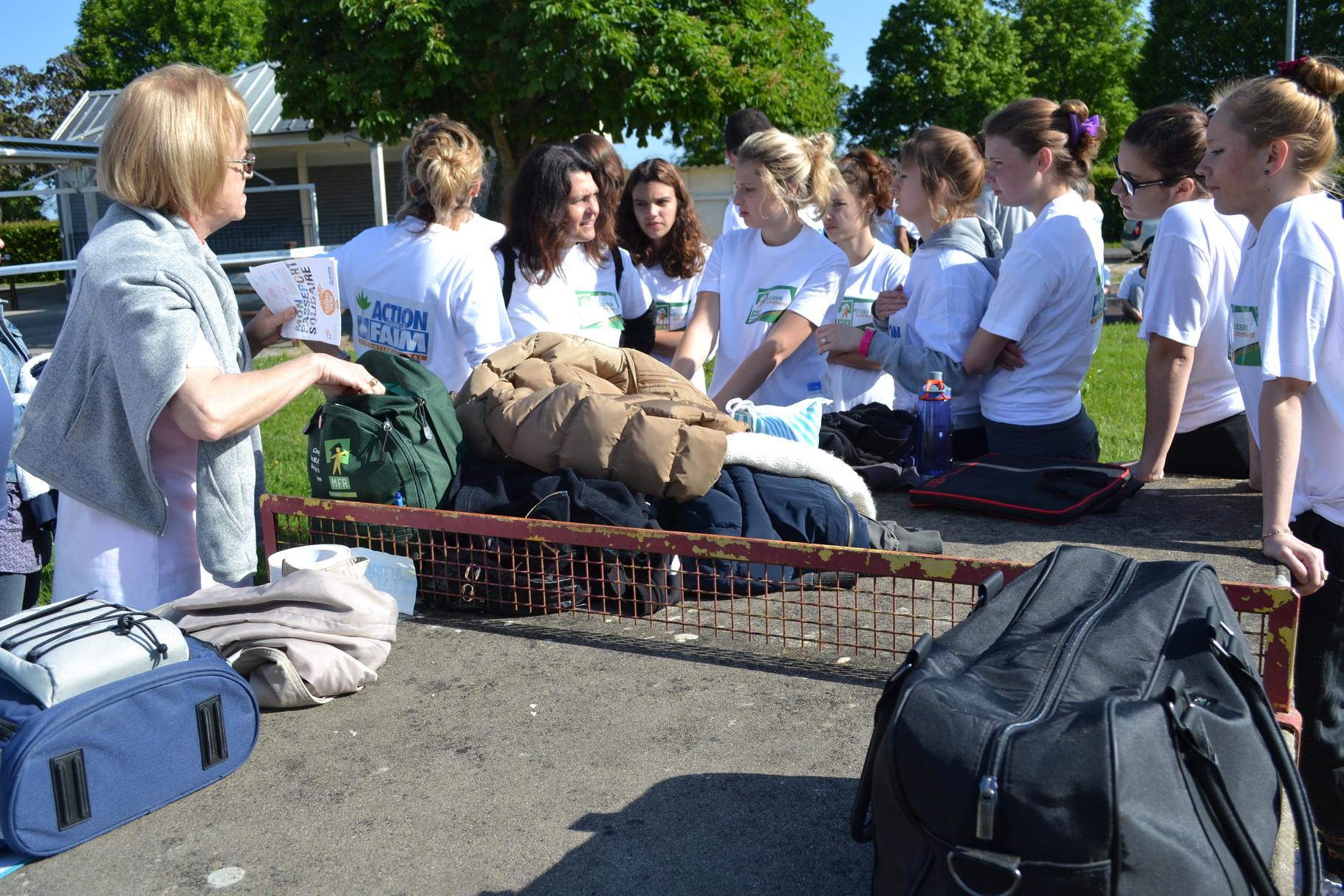 Les élèves de CAPA SMR se préparent pour la course
