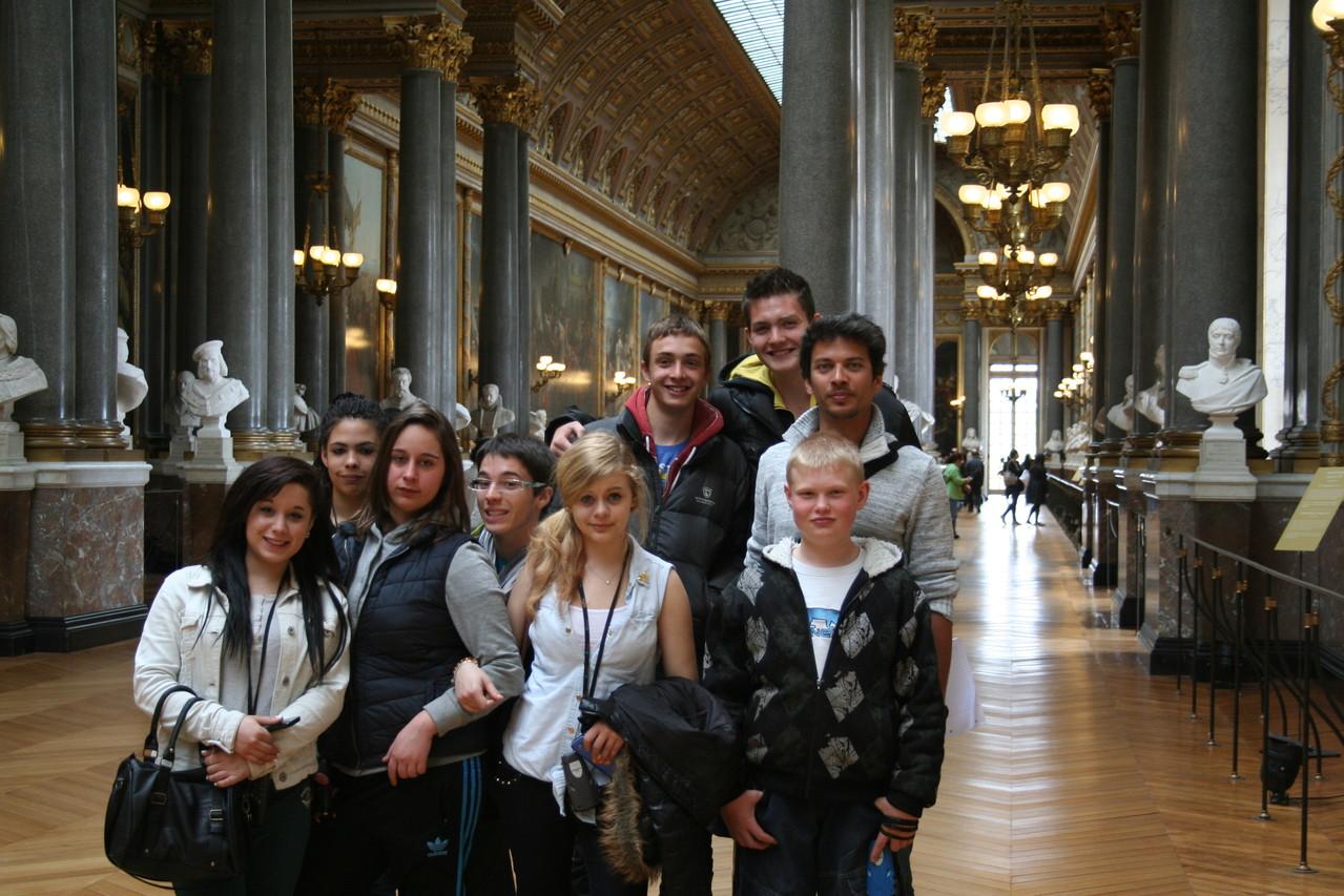 Les élèves ont apprécié la visite du château