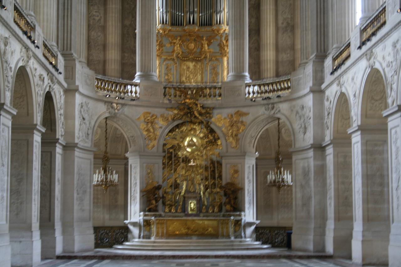 La Chapelle du château de Versailles