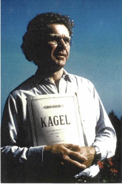 """als Schubert in """"Aus Deutschland"""" von M. Kagel"""