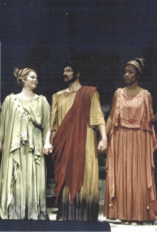 "als Creon in ""Antigone"" von A. Honegger"