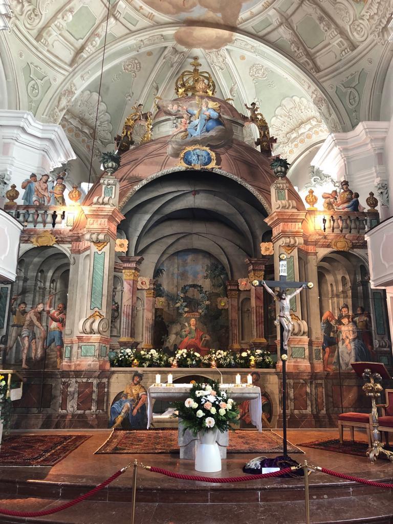 Ostergrab der Pfarrkirche Waidring