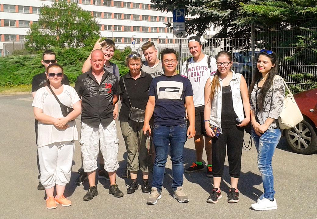 Juni 2017 - Projekttage: Hinter schwedischen Gardinen - Besichtigung der JVA Chemnitz