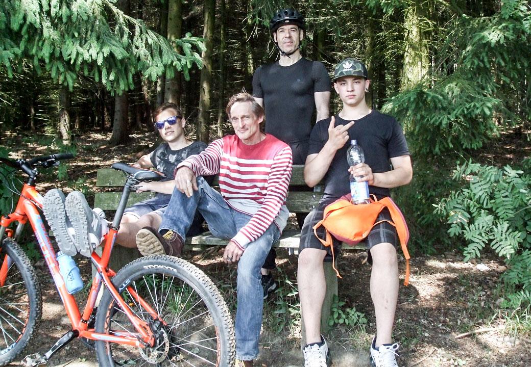 Juni 2017 - Projekttage: Fahrradtour rund um Chemnitz