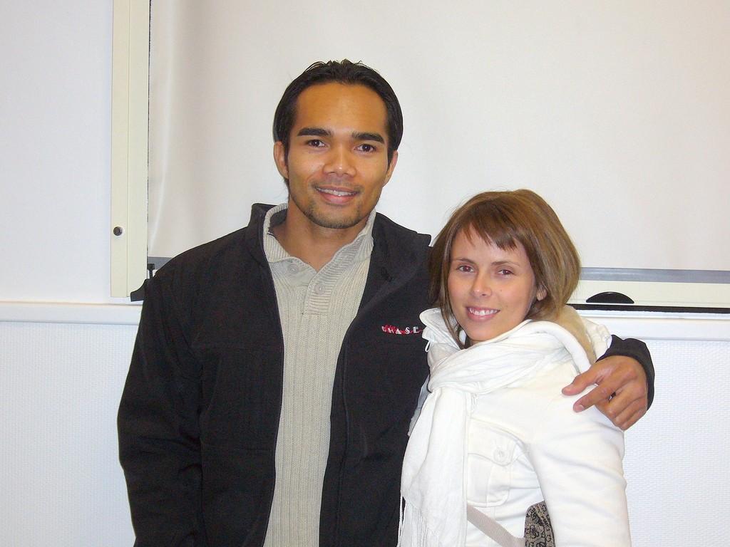 Minh et Kristel ( 2 champions au CKS)