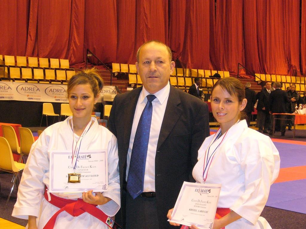 Krystel, Sarah et Mr Ortega