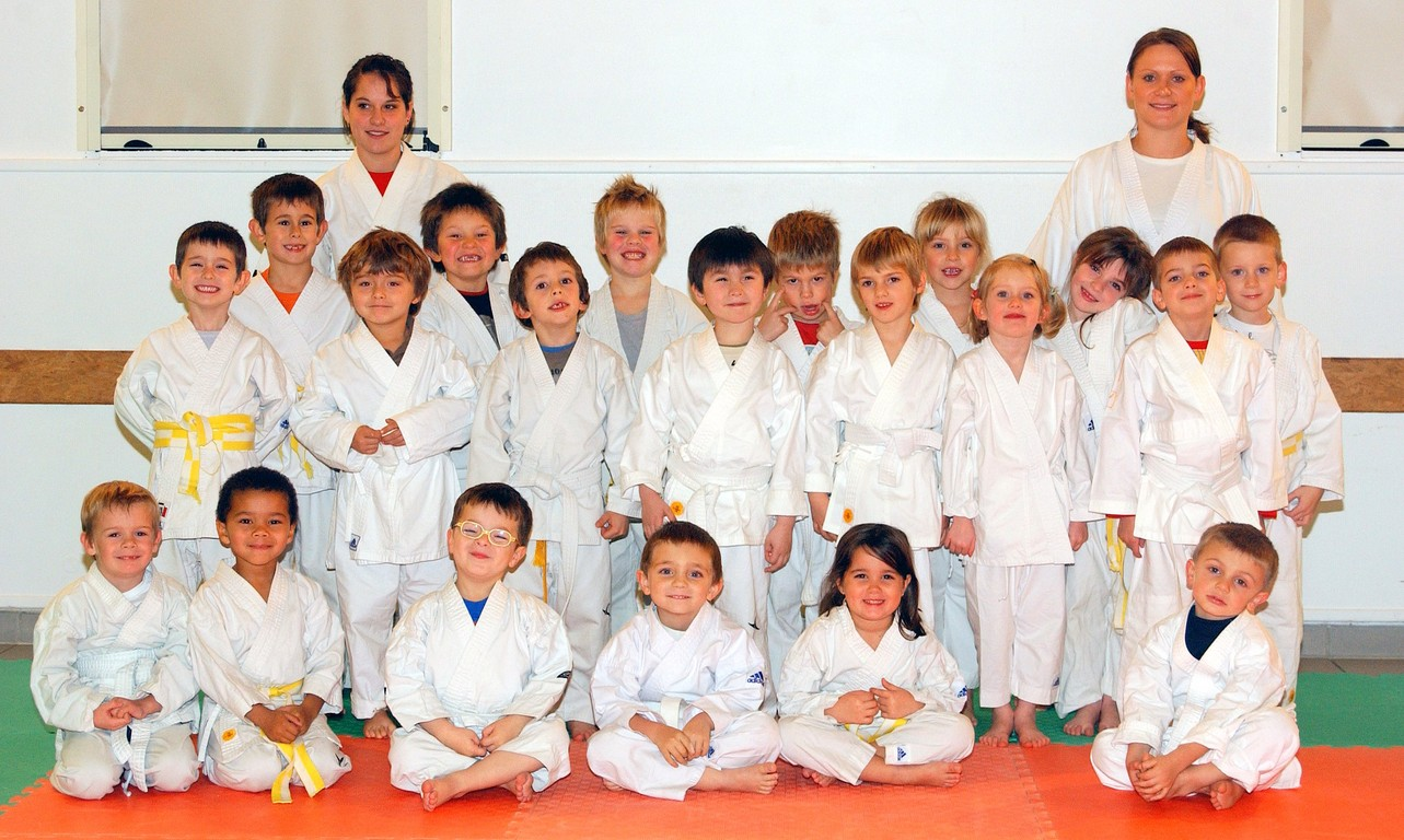 groupe baby karate