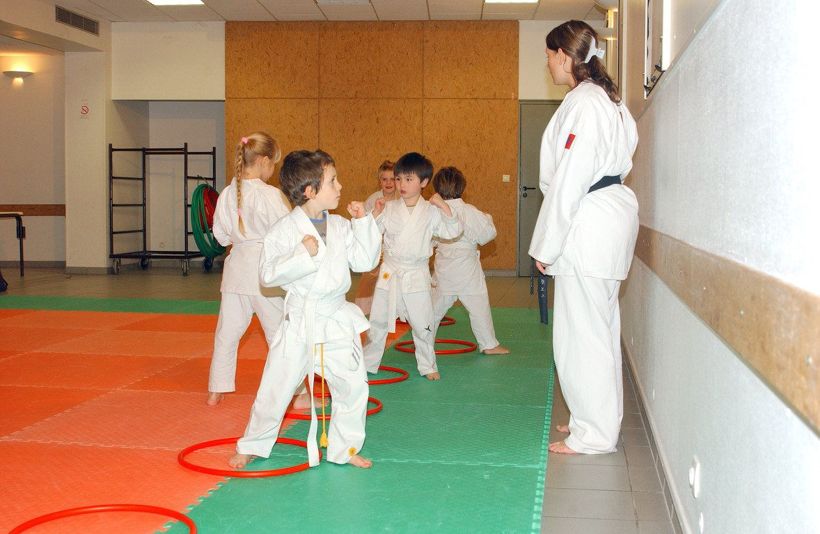 entrainement baby karate