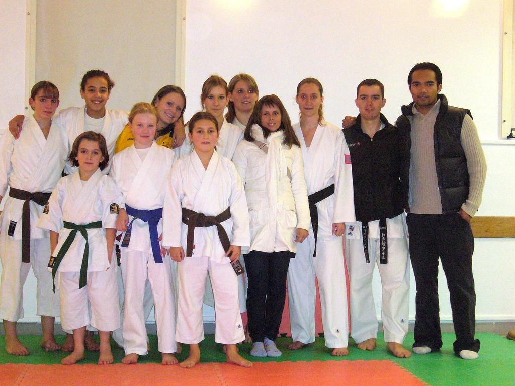 Le groupe avec Minh