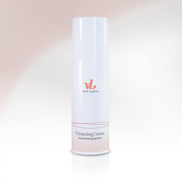 Cleansing Cream pflegende Reinigungscreme »   für   jeden Hauttyp bis auf fettige Haut»mit Mandelöl, Panthenol und Augentrostextrakt»entfernt Make-up, Mascara, Feinstaubpartikel»doppelt so ergiebig wie andere Reinigungsprodukte