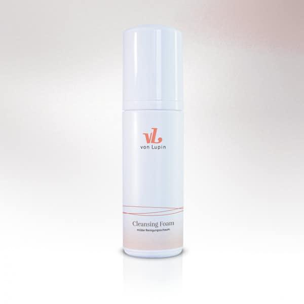 Cleansing Foam milder Reinigungsschaum »   für   jeden Hauttyp bis auf sehr trockene Haut»mit Aloe Vera und Extrakten aus der Seekamille»pflegt und hydratisiert die Haut»beugt Pickeln und Hautirritationen vor