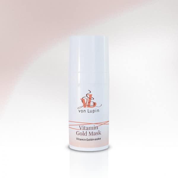 Vitamin Gold Mask Vitamin Goldmaske  »   für trockene, rissige, spröde oder reife Haut»mit Gold, Vitaminen und Passionsblumenöl» luxuriöse Intensivpflege für eine straffere, vitalisierte Haut und ein seidiges Hautgefühl