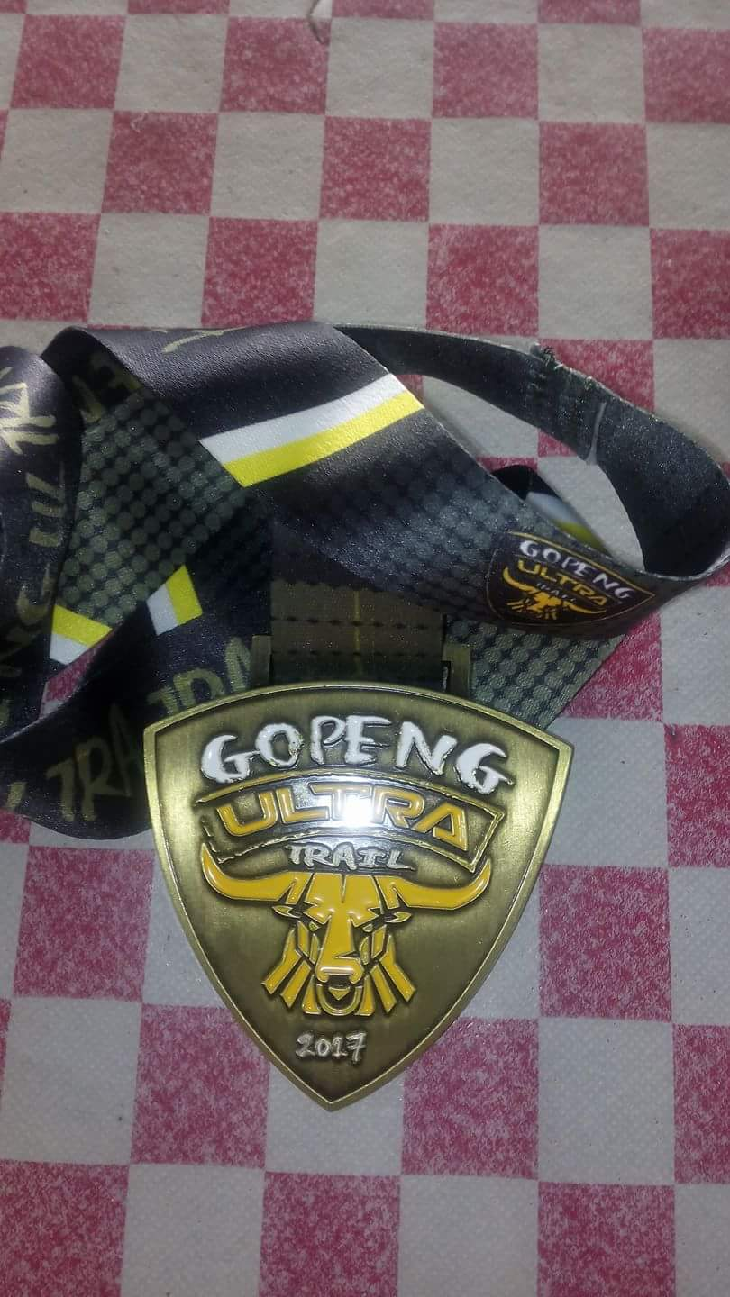GOPENG ULTRA 2017. 100KM(TRAIL) 1st edition