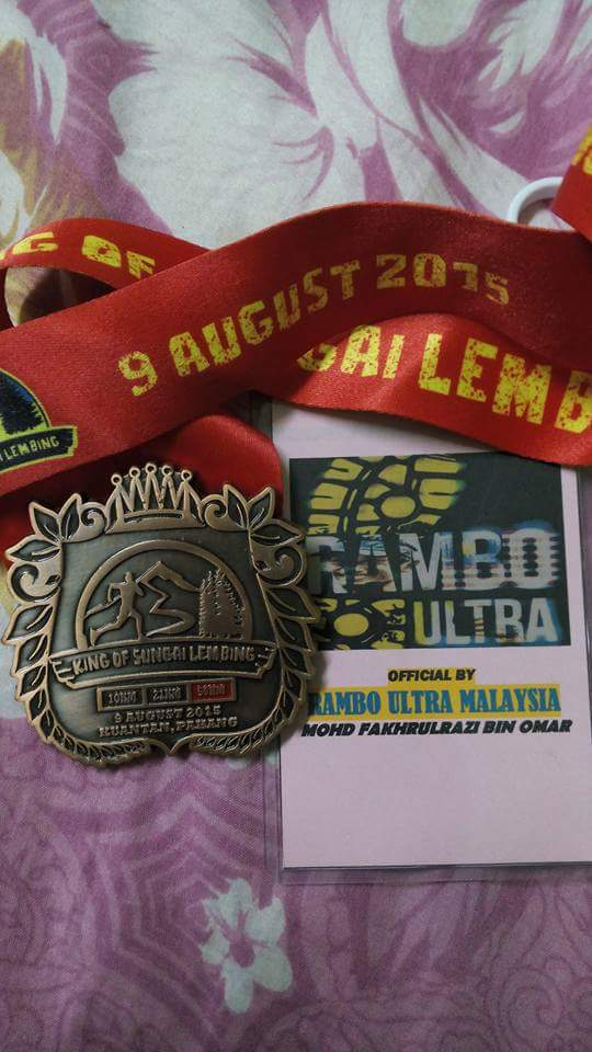 KING OF SG LEMBING 2015 50KM(TRAIL)