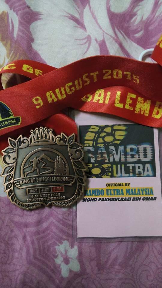 KING OF SG LEMBING 2015 50KM(TRAIL)