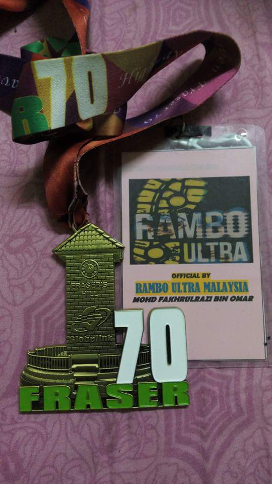 FRASER ULTRA 2016 70KM ( ROAD) 1st edition