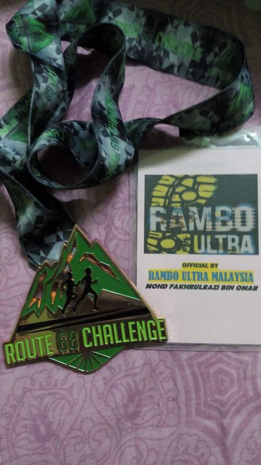 ROUTE 68 CHALLENGE 2016 50KM(ROAD)