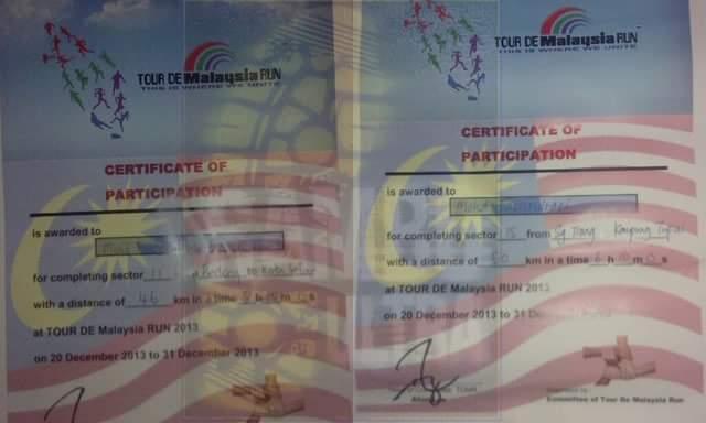TOUR de MALAYSIA RUN 2013 #TDMR