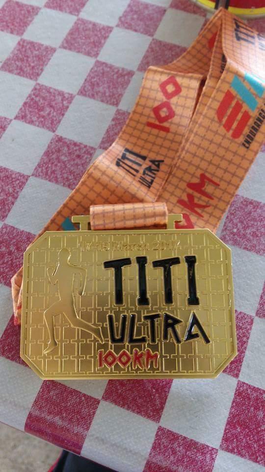 TITI ULTRA 2017 . 100KM ROAD