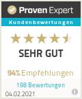 Proven Expert Auszeichnung